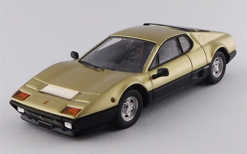 【予約】 ベストモデル 1/43 フェラーリ 512 BB 1977 ゴールド/ブラック 2018 サザビーオークション 完成品ミニカー BEST9731