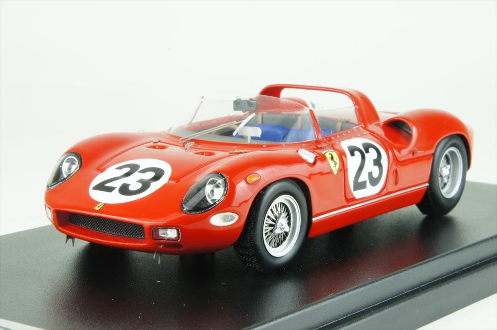 ルックスマート 1/43 フェラーリ 250P No.23 1963 ル・マン24時間 J.サーティース/W.メレス 完成品ミニカー LSLM065