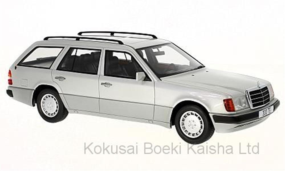 【予約】 ボスモデルズ 1/18 メルセデス 300 TE S124 1990 シルバー 完成品ミニカー BOS344