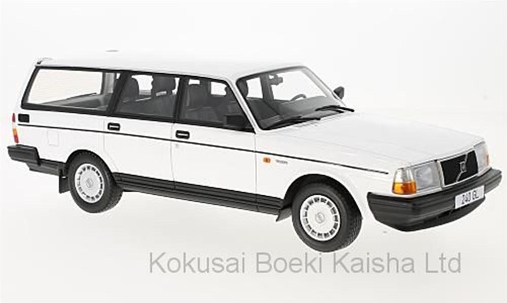 【予約】 ボスモデルズ 1/18 ボルボ 240 GL 1989 ホワイト 完成品ミニカー BOS345
