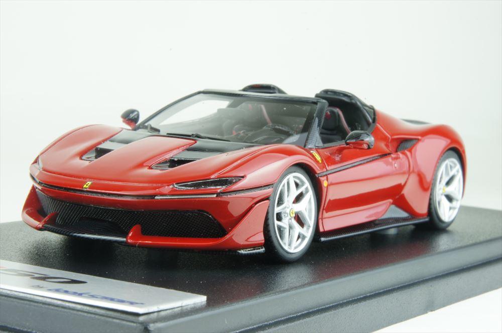 ルックスマート 1/43 フェラーリ J50 レッド 完成品ミニカー LS485A