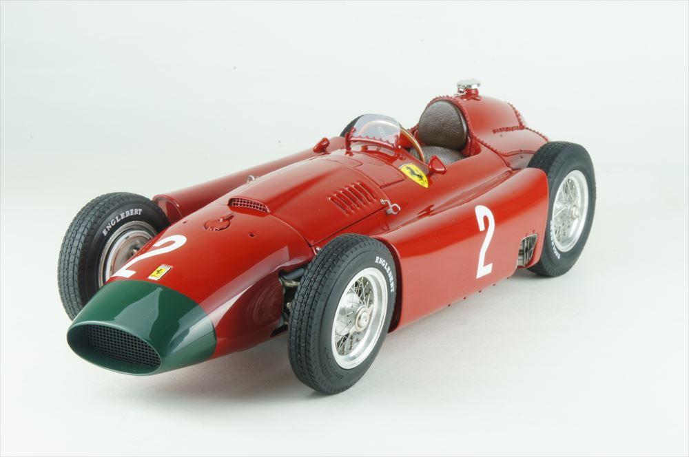 CMC 1/18 フェラーリ D50 No.2 1956 F1 ドイツGP ロングノーズ コリンズ 完成品ミニカー M-185