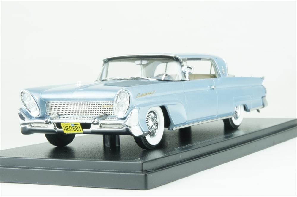 ネオ 1/43 リンカーン コンチネンタル MK3 1958 メタリックライトブルー 完成品ミニカー NEO46001