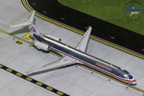 ジェミニ200 1/200 MD-83 アメリカン航空 (Polished) N9621A 完成品 艦船・飛行機 G2AAL760