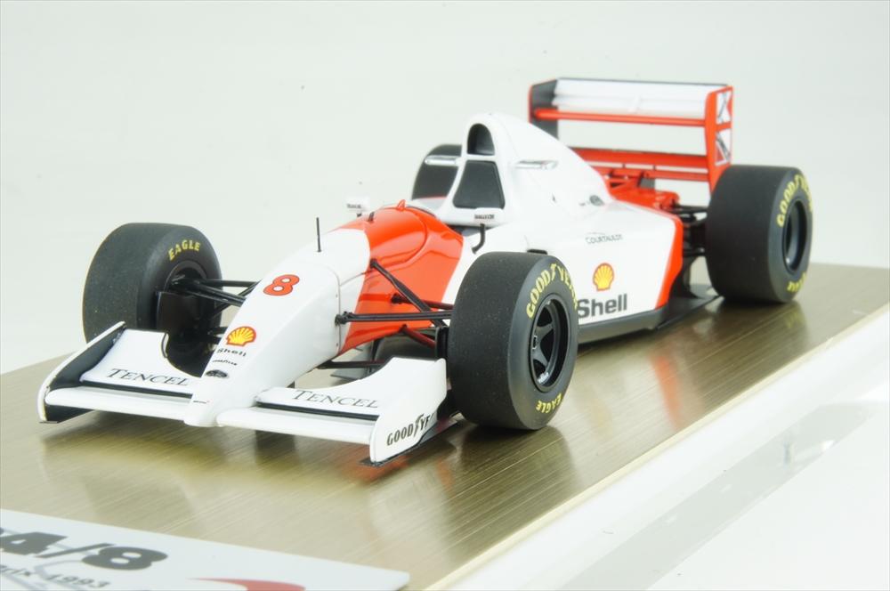 アイドロン 1/43 マクラーレン フォードMP4/8 No.8 1993 F1 オーストラリアGP A.セナ 完成品ミニカー FE033A