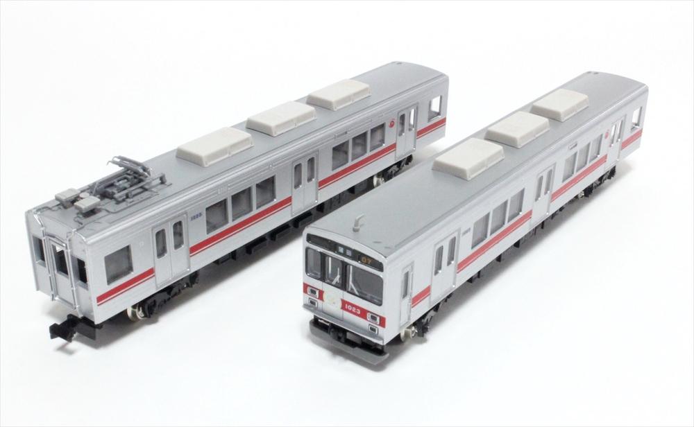 グリーンマックス 東急1000系(池上線90周年ヘッドマーク付)3両編成セット(動力付) 鉄道模型 50608