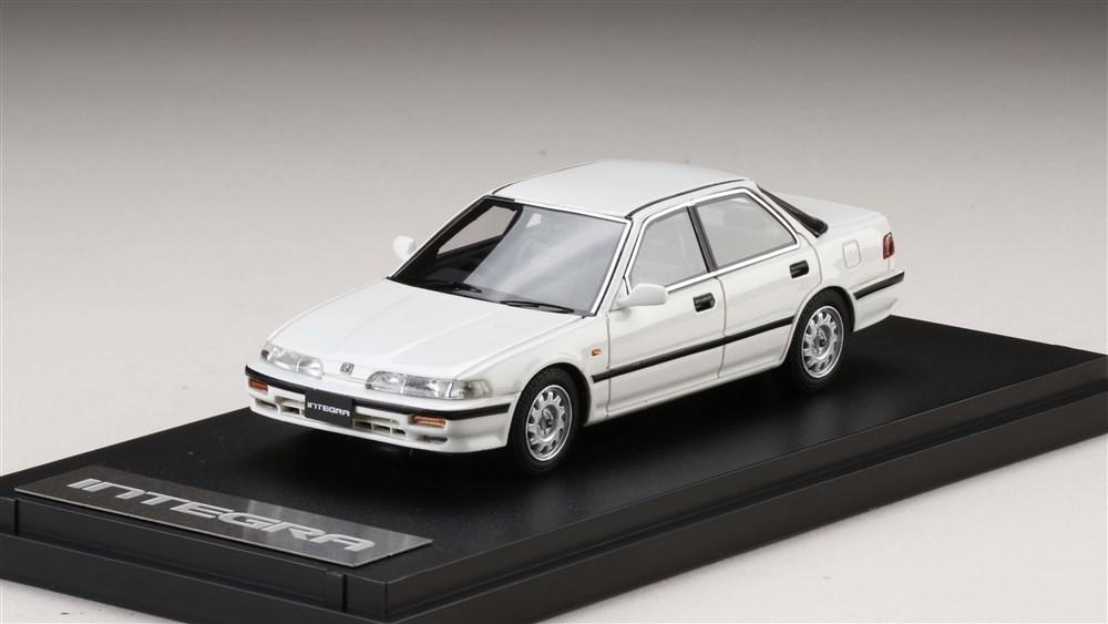 MARK43 1/43 ホンダ インテグラ (DA7) RXi ホワイト 完成品ミニカー PM4394RW
