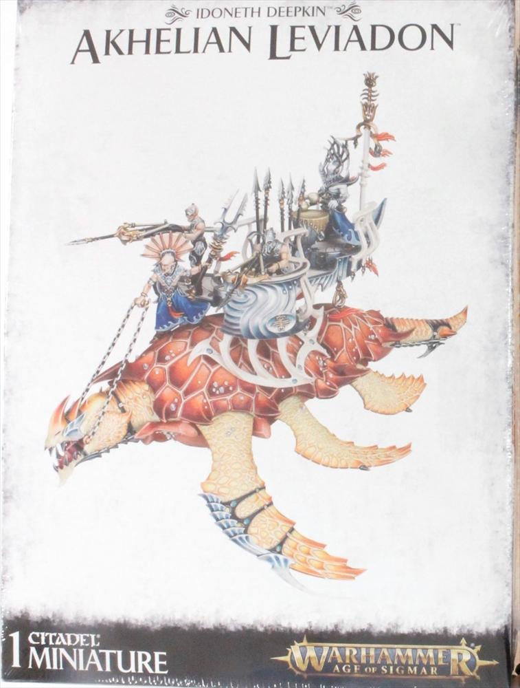 ゲームズワークショップ Idoneth Deepkin:Akhelian Leviadon 「ウォーハンマー」より プラモデル 5011921097531