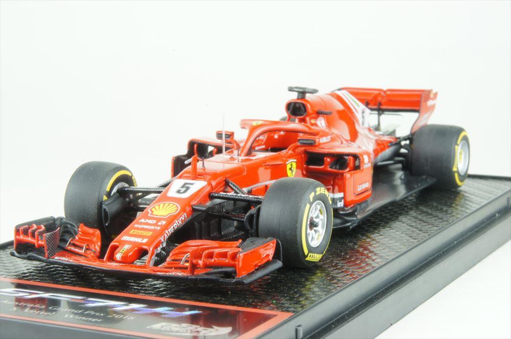 BBR 1/43 フェラーリSF71H No.5 2018 F1 オーストラリアGP ウイナー S.ベッテル 完成品ミニカー BBRC204A