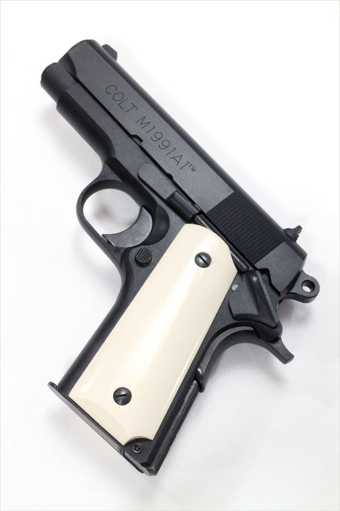 六研/エラン コルト M1991A1 コンパクト ヒート DUOブローバック モデルガン 109006006000