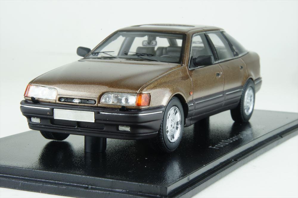 ネオ 1/43 フォード スコーピオ ギア Mk1 1986 メタリックブラウン 完成品ミニカー NEO49556