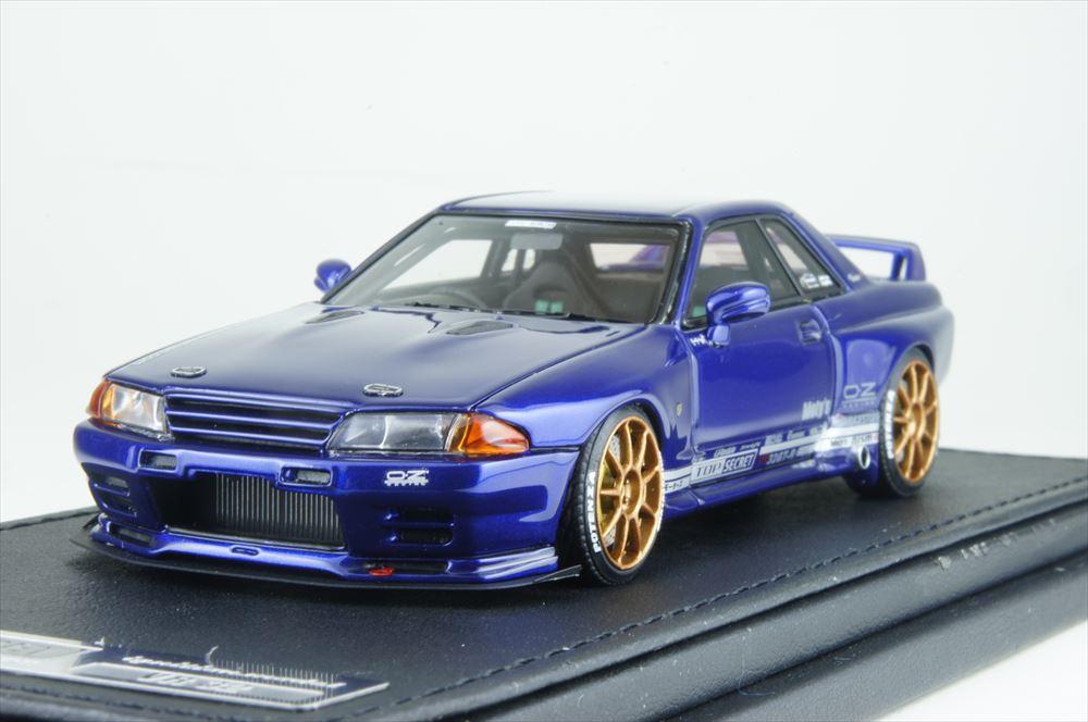 イグニッションモデル1/43 トップシークレット GT-R (VR32) ブルー メタリック 完成品ミニカー IG1528