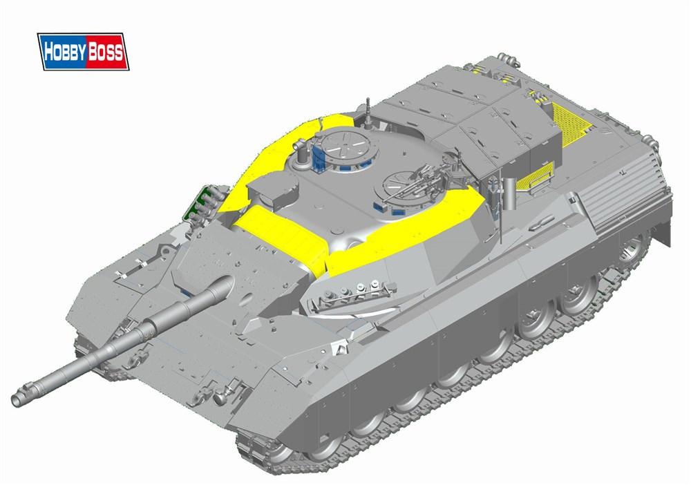 ホビーボス 1/35 ファイティングヴィークル カナダ陸軍 レオパルト C2 MEXAS スケールプラモデル 84504