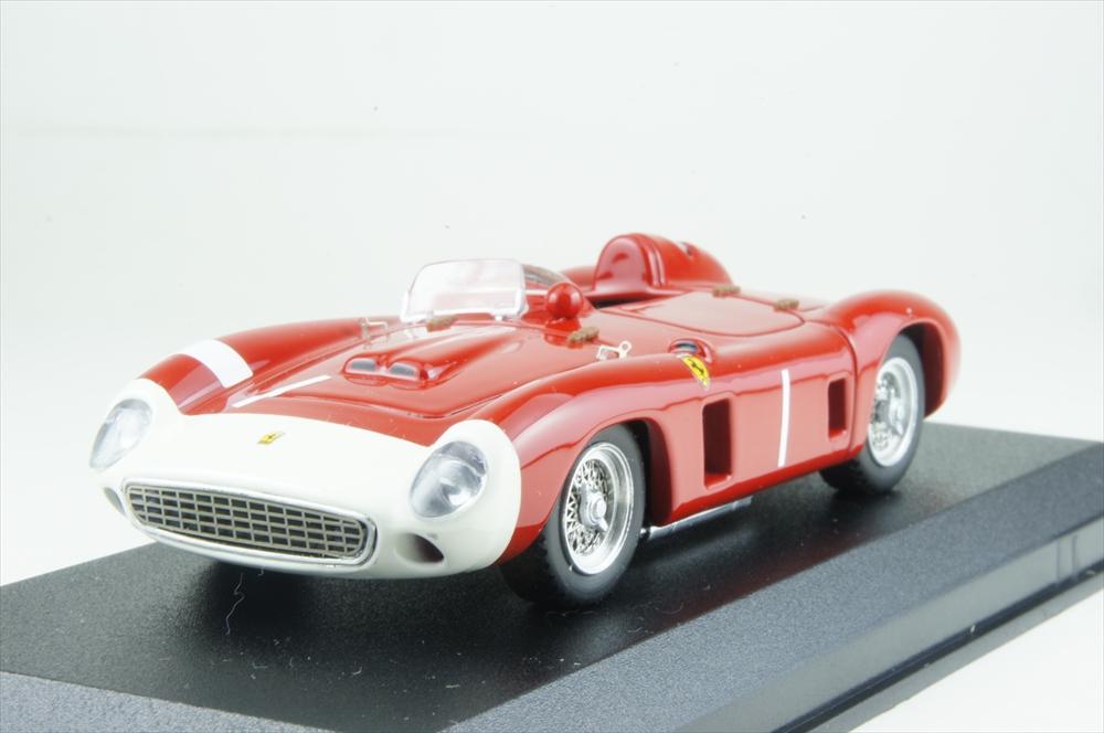 アートモデル 1/43 フェラーリ 860 モンツァ No.1 1956 ニュル1000km 2位 シャーシNo.0602 J.ファンジオ/E.カステロッティ 完成品ミニカー ART396
