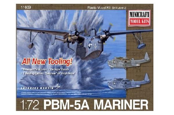 ミニクラフト 1/72 マーチンマリナー PBM-5A スケールプラモデル MC11669