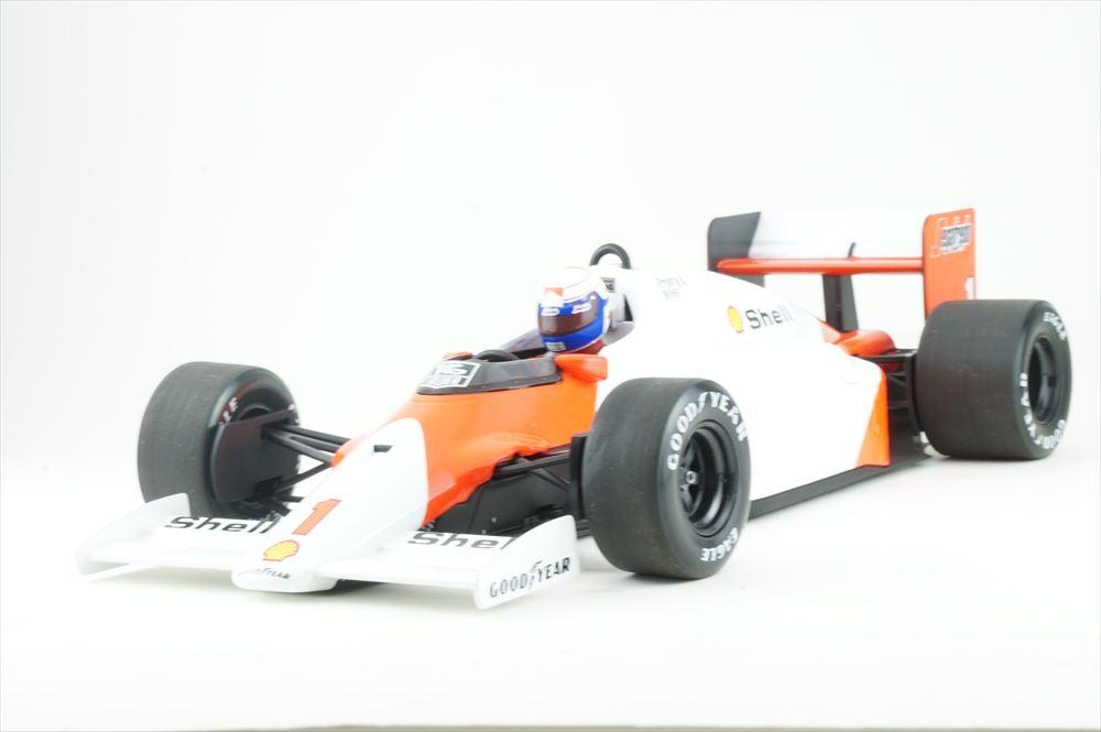 ミニチャンプス 1/18 マクラーレン TAG MP4/2C No.1 1986 F1 ワールドチャンピオン A.プロスト 完成品ミニカー 530861801
