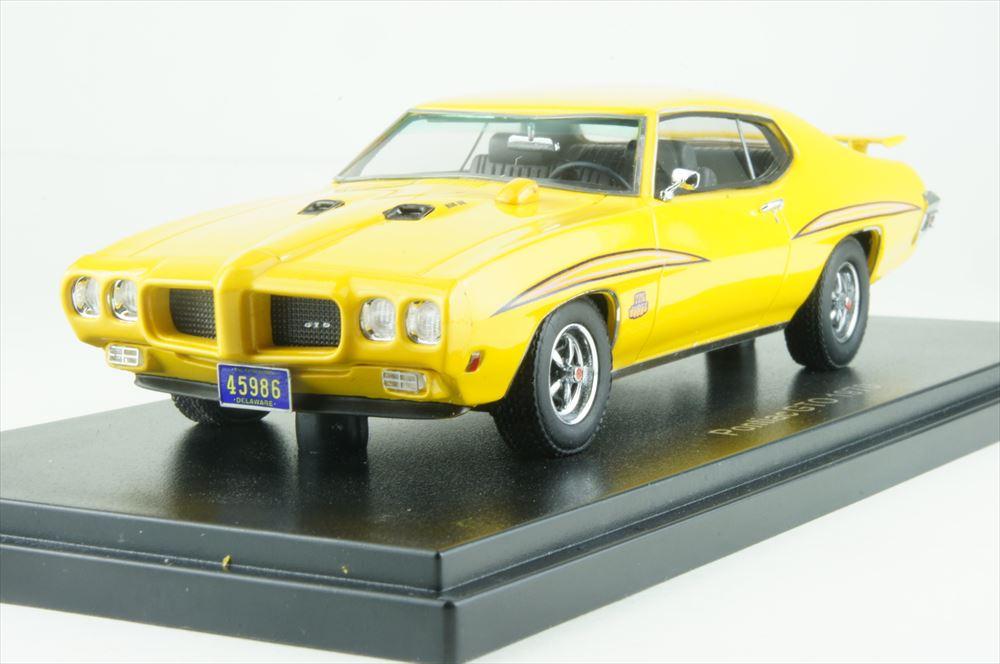 【30%OFF】ネオ 1/43 ポンティアック GTO ザ・ジャッジ 1970 イエロー 完成品ミニカー NEO45986
