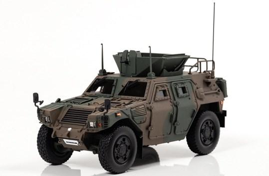 アイランズ 1/43 陸上自衛隊 軽装甲機動車 LAV 海外派遣仕様 完成品ミニカー IS430006