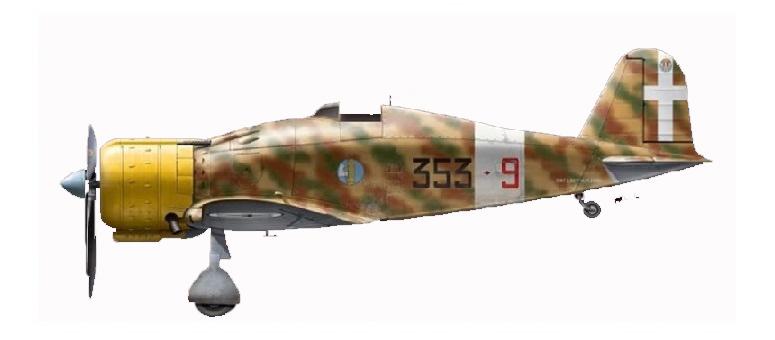 SBS 1/72 フィアット G.50 bis 「イタリア」 スケールプラモデル SBM7019