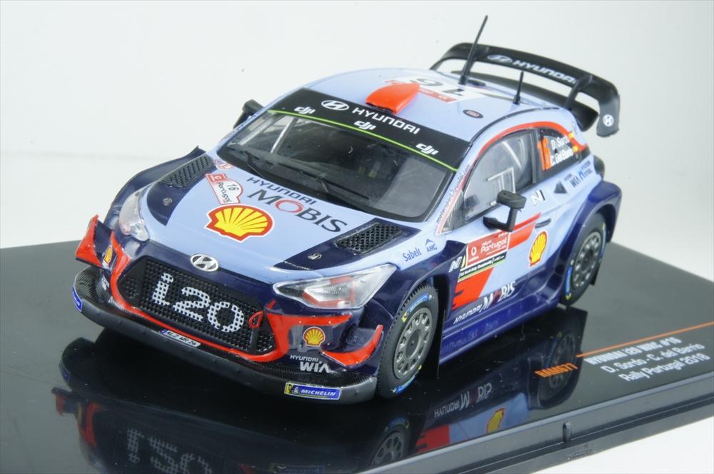 イクソモデル 1/43 ヒュンダイ i20 No.16 2018 WRC ラリー・ポルトガル ウイナー D.ソルド/C.デル・バリオ 完成品ミニカー RAM677