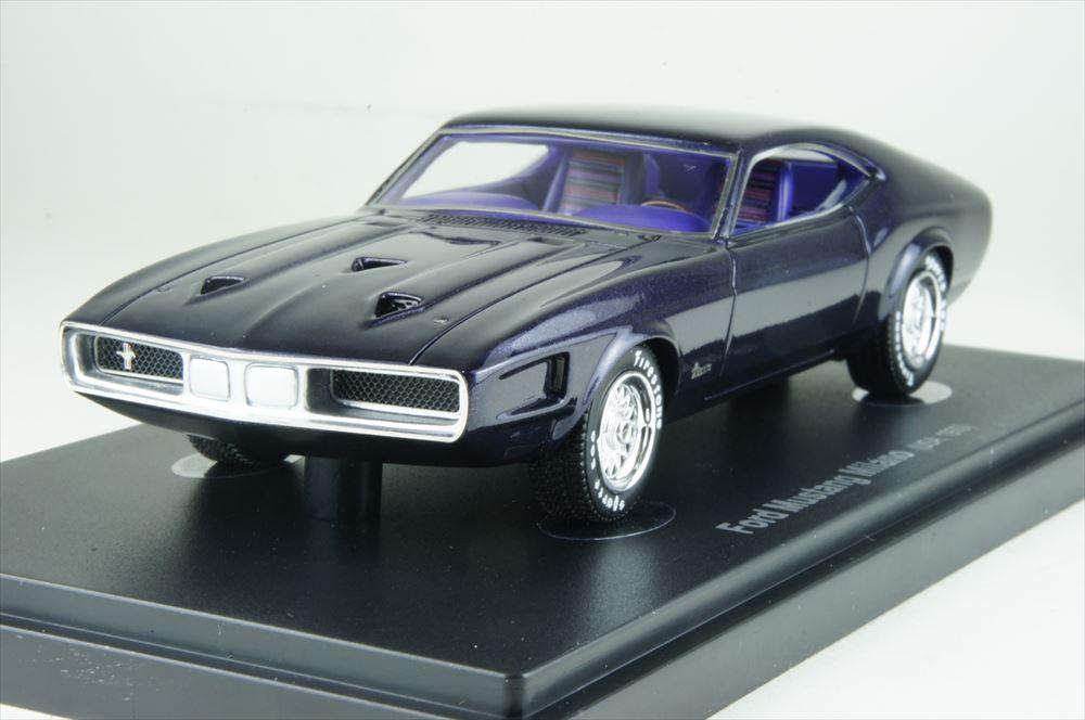 アべニュー43 1/43 フォード マスタング ミラノ コンセプト 1970 ダークパープル 完成品ミニカー 60017