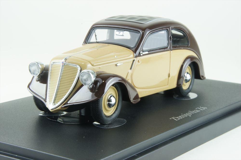 オートカルト 1/43 ズブロヨフカ Z6 1935 アイボリー/ブラウン 完成品ミニカー 02013