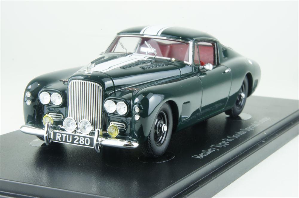 オートカルト 1/43 ベントレー タイプ R グーダスペシャル 1954 ダークグリーン 完成品ミニカー 05024