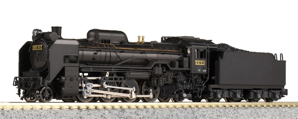 KATO Nゲージ D51 標準形 鉄道模型 2016-9
