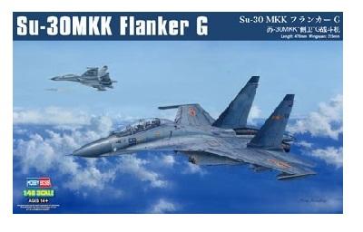 HOBBY BOSS ホビーボス (81714) 1/48 Su-30 MKK フランカーG