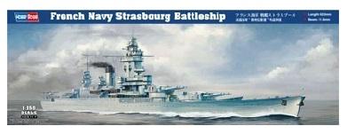 ホビーボス 1/350 フランス海軍 戦艦ストラスブール スケールプラモデル 86507