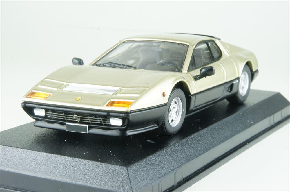 ベストモデル 1/43 フェラーリ 512 BB 1977 ゴールド/ブラック 2018 サザビーオークション 完成品ミニカー BEST9731