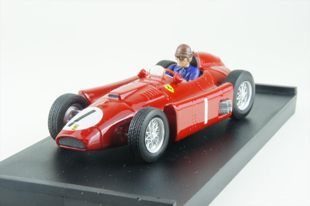 ブルム 1/43 フェラーリ D50 No.1 1956 F1 イギリスGP ウィナー J.M.ファンジオ ドライバーフィギュア付 完成品ミニカー R076-CH