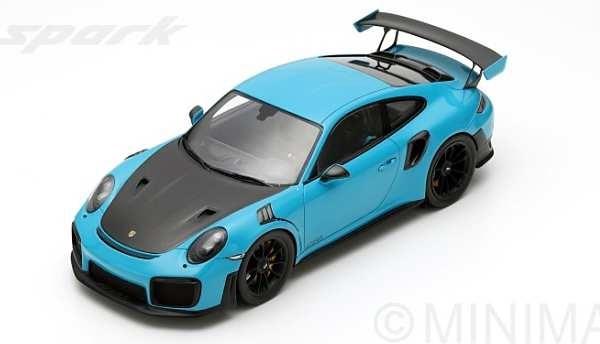 【予約】 スパーク 1/18 ポルシェ 911 GT2 RS 2018 完成品ミニカー 18S281