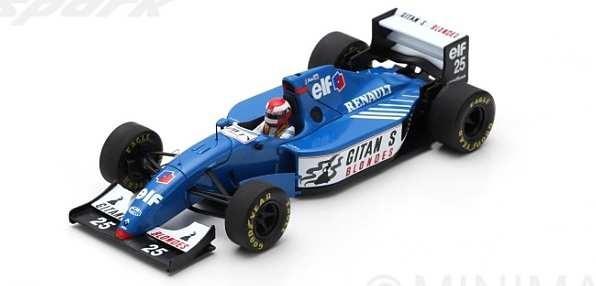 スパーク 1/43 リジェ JS39B No.25 1994 F1 ヨーロッパGP J.ハーバート 完成品ミニカー S7404