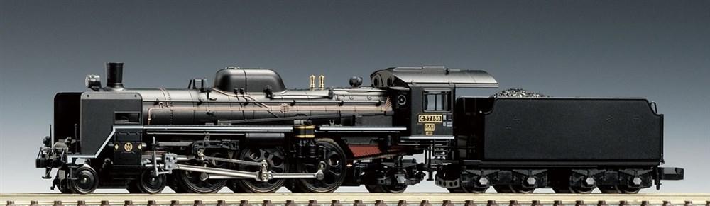 トミックス Nゲージ JR C57形蒸気機関車 180号機 鉄道模型 2005