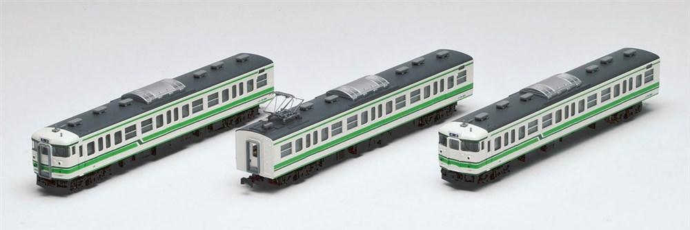 トミックス Nゲージ JR 115-1000系近郊電車(新潟色)3両セット 鉄道模型 92493