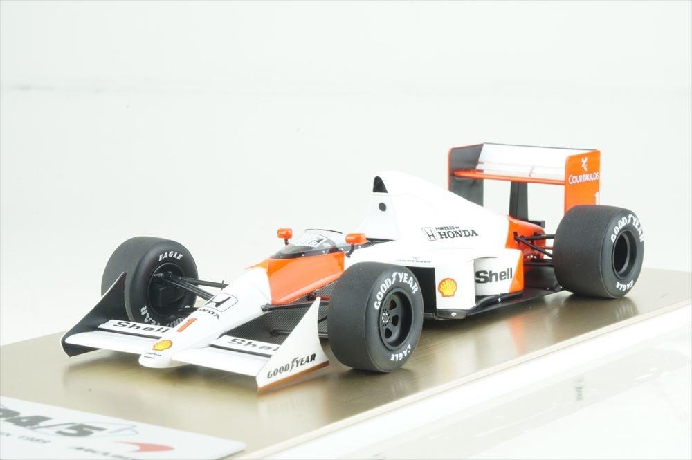 アイドロン フォーミュラ 1/43 マクラーレン フォードMP4/5 No.1 1989 F1 モナコGP A.セナ 完成品ミニカー FE023A