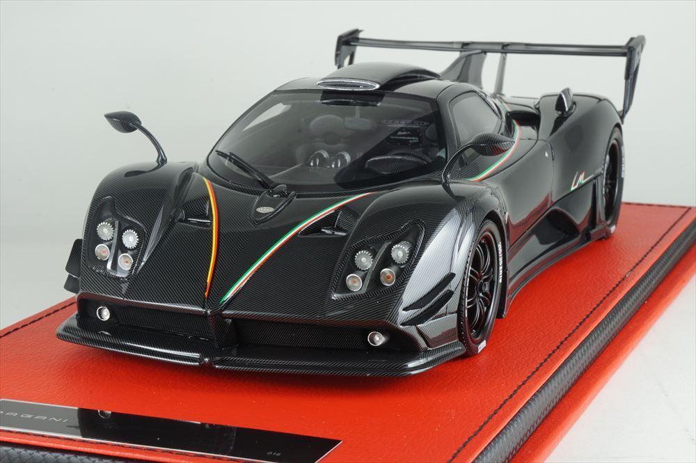 ピーコ 1/18 パガーニ ゾンダ 760 LM フルカーボン 完成品ミニカー PE81506