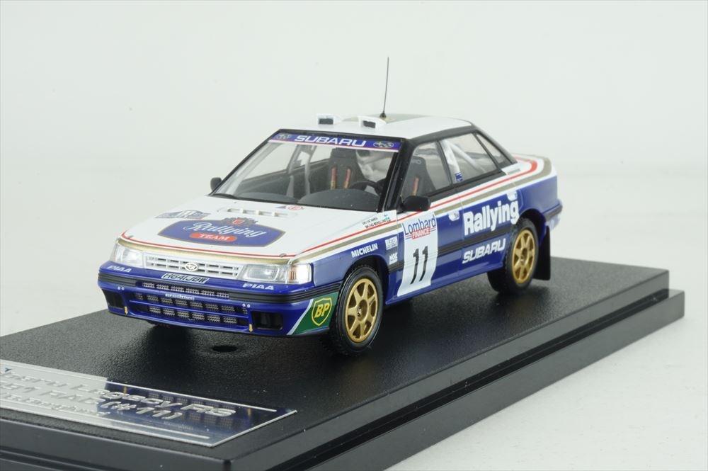ミニカー 1/43 ミラージュ/エイチピーアイ MIRAGE/hpi スバル レガシィ RS 1991年 RAC #11(8187)