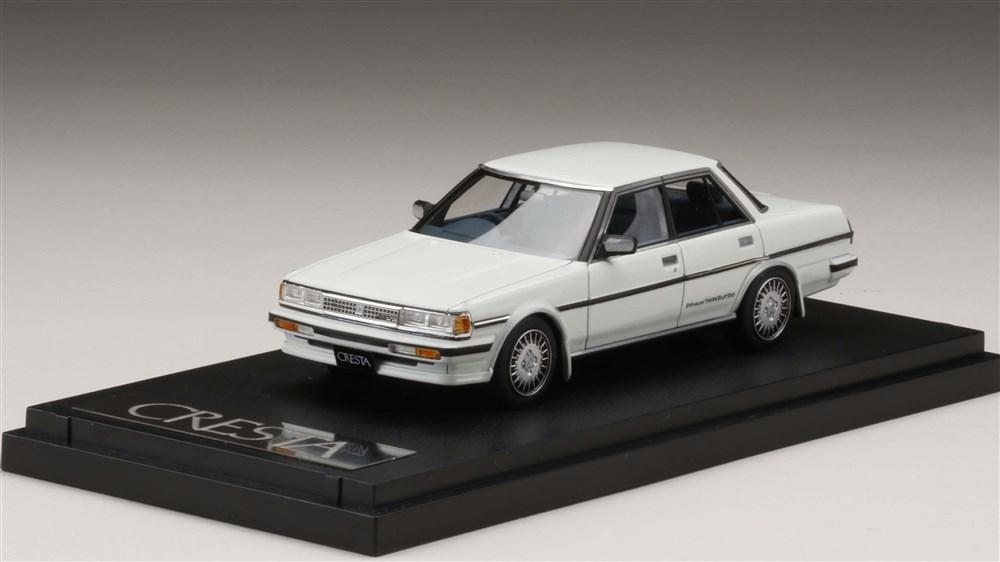 MARK43 1/43 トヨタ クレスタ GT ツインターボ GX71 スーパーホワイトII 完成品ミニカー PM43109W