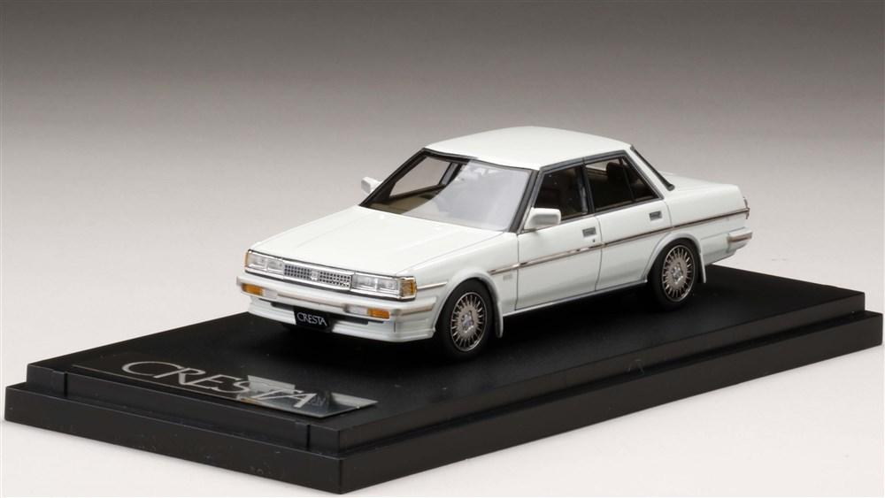 MARK43 1/43 トヨタ クレスタ スーパールーセント ツインカム 24 エクシード GX71 スーパーホワイトII 完成品ミニカー PM43109LEW