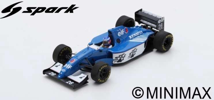 土日出荷可能 完成品ミニカー スパーク 1 43 リジェ 超安い JS39B S7402 F1 ドイツGP No.26 新作続 2位 O.パニス 1994