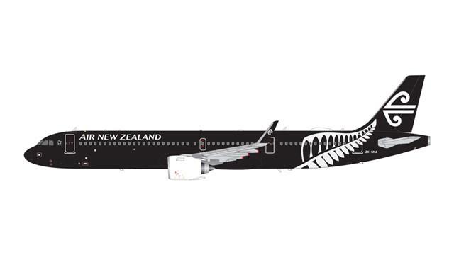 【予約】 ジェミニ200 1/200 A321neo ニュージーランド航空 All ブラックs Livery ZK-NNA 完成品 艦船・飛行機 G2ANZ801