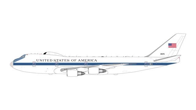 ジェミニマックス 1/400 E-4B アメリカ空軍 73-1676 w/Antenna 完成品 艦船・飛行機 GMUSA083