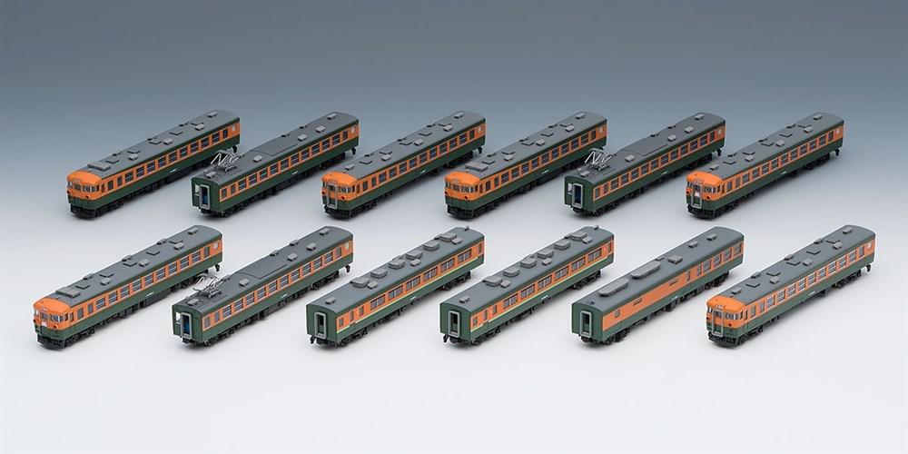 トミックス Nゲージ 限定品 国鉄 169系急行電車(妙高・冷房準備車)(室内灯入り)セット 鉄道模型 98998