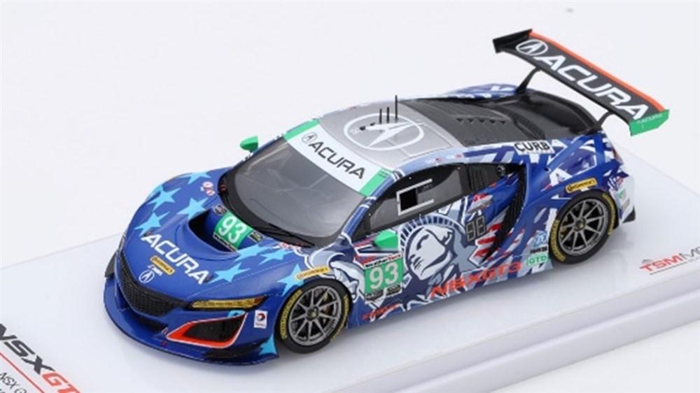 【予約】 トゥルースケール 1/43 アキュラ NSX GT3 No.93 2017 IMSAチャンピオンシップ ワトキンスグレン