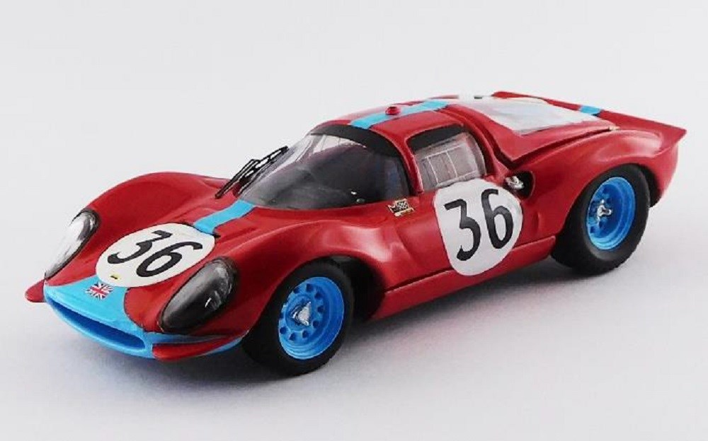 【予約】 アートモデル 1/43 フェラーリ ディーノ 246 S クーペ No.36 1966 ル・マン24時間 M.サーモン/D.ホッブズ 完成品ミニカー ART207/2