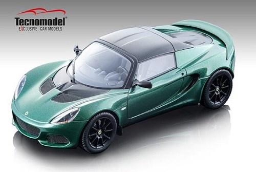【予約】 テクノモデル 1/18 ロータス エリーゼ スプリント 220 ブリティッシュレーシンググリーン 完成品ミニカー TM18-110A