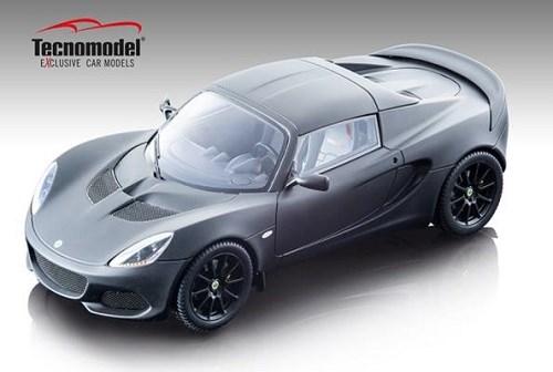 【予約】 テクノモデル 1/18 ロータス エリーゼ スプリント 220 マットブラック 完成品ミニカー TM18-110B