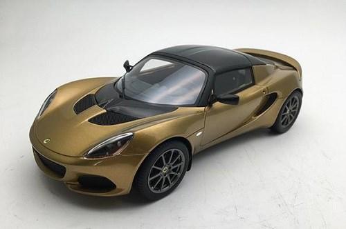 【予約】 テクノモデル 1/18 ロータス エリーゼ スプリント メタリックゴールド 完成品ミニカー TM18-110D